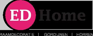 Raamdecoratie ED Home Logo